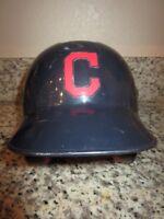 Cleveland Indians Game Worn Used Baseball Rawlings Batting Helmet 7 3/8