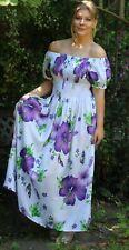 Floral Elastic Top Maxi Dress La Belle Rose Summer Dress
