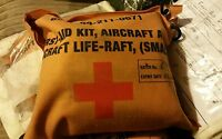 Apache Helicopter Rare RAF British Army Medical First Aid Kit Aircraft Life Raft