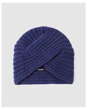 Chapeaux turbans bleus pour femme