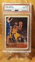 1996-97 Topps #138 Kobe Bryant Los Angeles Lakers RC Rookie HOF PSA 8 NM-MT $$$