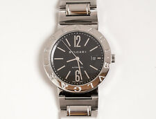 BULGARI ref. BB 42 SS. Stainless Steel Automatic 42mm authentic watch.