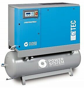 106 CFM 10 Bar 22 KW Full Feature Compressor 500 Litre Receiver with Dryer