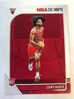 COBY WHITE 2019-20 19-20 NBA HOOPS ROOKIE RC #204  BULLS  QTY