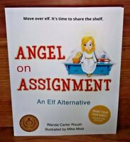 Angel on Assignment Wanda Carter Roush Elf Alternative Guardian Angels PB 1st Ed