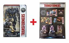 TRANSFORMERS MV5 THE LAST KNIGHT VOYAGER MEGATRON + TF STICKERS