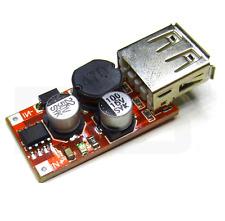 DC-DC buck abaisseur de tension DC 9V 12V 24V vers 5V 3A prise USB