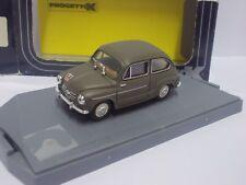 Progetto K 1:43  Fiat 600 D Berlina  Militär Italiano    Neu in  Ovp.     (AS48)