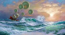 HD Canvas Print home decor wall art painting,michael cheval-122 18x33inch