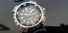 Casio MD-703 Gents Vintage 1980's Titanium Plated St.Steel 200m Divers Watch.