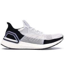Adidas Ultra Boost 19 Panda Men's Size 10 Running Shoes White Black [B37707]