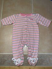 Childrens Girls Little Wonders Sleeper. Size 3-6 Mo.
