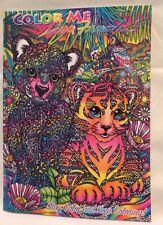 Color Me Lisa FrankAdult Coloring book FANTASY Cat Dog Animal