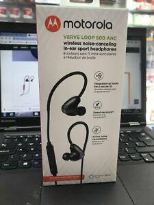 New Motorola Verve Loop 500 ANC Wireless Noise Canceling In Ear Sport Headphones