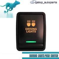 Amber Green Driving Lights Push Switch For Nissan Navara Pathfinder R52 X-Trail