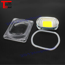 1set LED COB Chip Lens Reflector 230V 220V 110V 20W 30W 50W F LED Flood Light