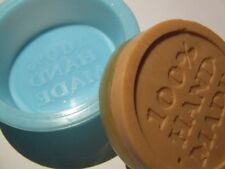 """100% Hand Made"" Round Silicone Soap Mould / Mold**Soapmaking**"