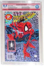 CBCS 8.5 COMPLETE SPIDER-MAN #1~MARVEL COMICS UK~SIGNED STAN LEE~McFARLANE~MORE!