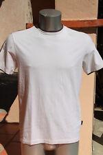 bonito camiseta blanca/marrón hombre HUGO BOSS slim fit talla L EXCELENTE ESTADO