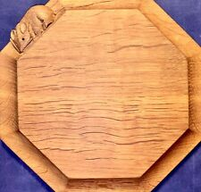 UNUSED🎁'MOUSEMAN' Robert THOMPSON Small Chopping/Cheese BOARD /Pot STAND.