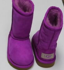 Ugg Australia  Kids Toddler Purple Size 6 Classic Short Boots