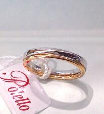 FEDE POLELLO m 2551 ubr Oro 18 kt BIANCO/ROSA diamante matrimonio anniversario