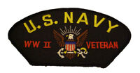 USN NAVY WWII WORLD WAR TWO 2 VETERAN PATCH SAILOR GREATEST GENERATION