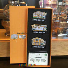 Starbucks 2020 China Reserve Roastery Paw Friendly Store Magnet Card Pin Intact