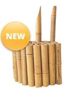 Quality Bamboo Garden Edging 1 mt x 15 cm High