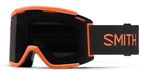 Smith Squad XL MTB/Bike Goggles Cinder Haze, ChromaPop Sun Black Lens +Bonus New