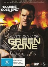 GREEN ZONE (Matt DAMON Jason ISAACS Greg KINNEAR) ACTION THRILLER NEW Region 4