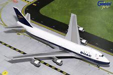 GEMINI JETS BOAC BRITISH OVERSEAS AIRWAYS BOEING B747-100 1:200 DIECAST G2BOA654