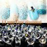 1440Pcs Crystal Rhinestone 3D Glass Diamond Gems Nail Art Decor Lots Jewelry