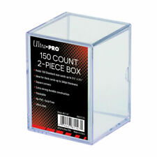 Ultra Pro 150 Count 2 Piece Storage Box Standard Trading Cards 150ct