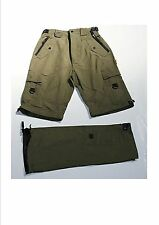 "Pantalon transformable short kaki T.42 ""Bomaland"""
