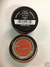 2 X L'Oreal HiP Jelly Lip Balm SAVORY #420 NEW.