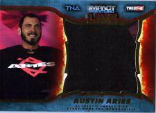 TNA Austin Aries 2013 Impact Wrestling LIVE GOLD Jumbo Relic Card SN 35 of 50