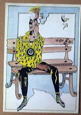 Carte postale Temps, homme assis,Leo Tornero  postcard