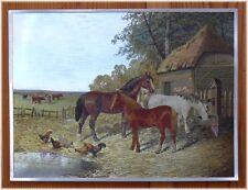 Indianer Alu-Bild Pferde Western Country Saloon,Reiter Cowboy Deko,16x21 Alubild