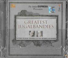 USTAD VILAYAT KHAN & USTAD BISMILLAH KHAN - GREATEST JUGALBANDIES - BRAND NEW CD