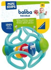 Ravensburger ministeps Spielzeug baliba Rasselball türkis 04152