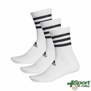 Calze 3-Stripes Cushioned Adidas (3 paia) - DZ9346 - DZ9347