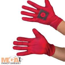 Deadpool Gloves Fancy Dress Marvel Book Day Adults Superhero Costume Accessory