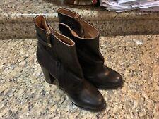 Alberto Fermani Womens High Heel Brown/Coffee Leather Bootie Sz 40.5 EUR