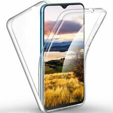 For Samsung Galaxy A20 E Full Body 360 Silicone Clear Gel Case Cover Front Back