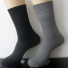 2 Pair Men's Thermal Socks Winter Socks Light Grey And Dark Grey Uni 39 To 46