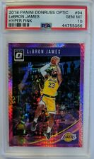 2018-19 Panini Donruss Optic Hyper Pink LeBron James #94, Cavs, Graded PSA 10