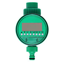 Auto Electronic Garden Water Timer Solenoid Valve Irrigation Sprinkler Control