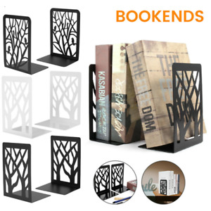 Book Ends Metal Bookends Heavy Duty Bookend Shelf Holder Supports Home Office