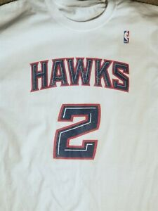 NBA Throwback VTG 2000s Atlanta Hawks #2 Joe Johnson size L/XL